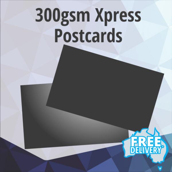 Postcards - Xpress 300gsm - Standard 145x95mm