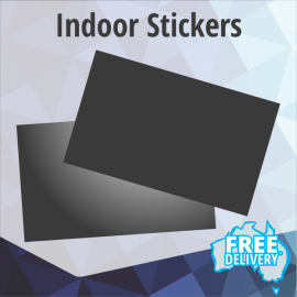 Indoor Stickers - Full Colour - 90x55mm
