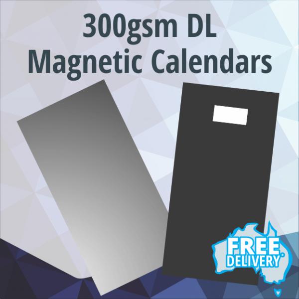 Magnetic Fridge Calendars - DL - 300gsm - 210x99mm