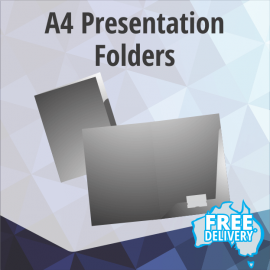 Presentation Folders - A4 - Full Colour - 360gsm