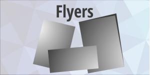 Flyers (Flat / Folded)
